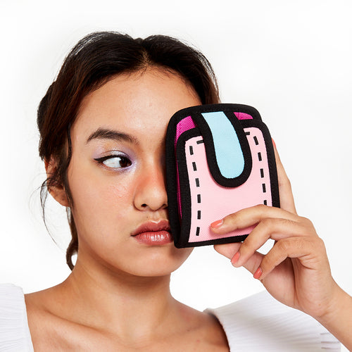 Neon Pink Poketto Wallet