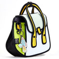 Lemon Owl Bag / Metal Chain Bag