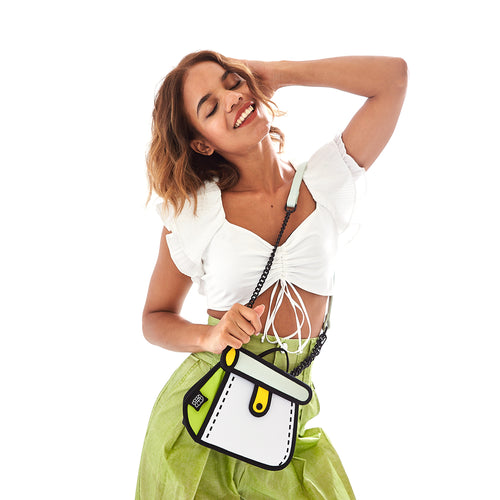 Lemon Cake Bag / Metal Chain Bag