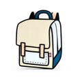 Beige Spaceman Backpack