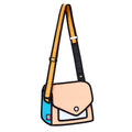 Cantaloupe Giggle Shoulder Bag