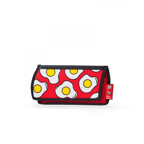 Egg Printed Red Purse - JumpFromPaper