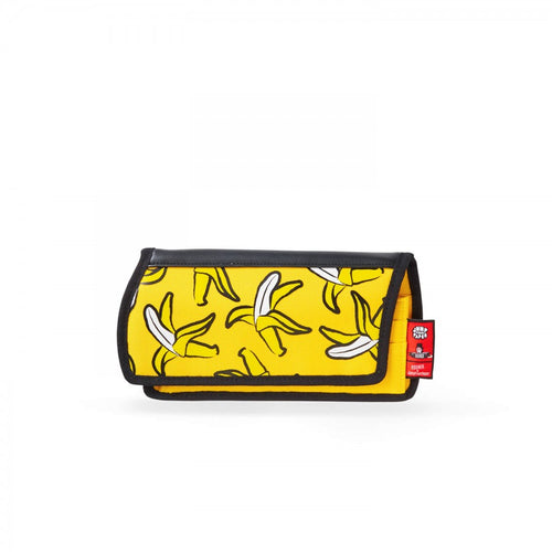 Banana Printed Yellow Purse - JumpFromPaper
