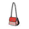 Red Stripe Shoulder Bag