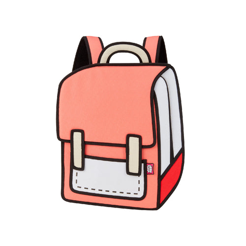 Watermelon Red Spaceman Backpack - JumpFromPaper