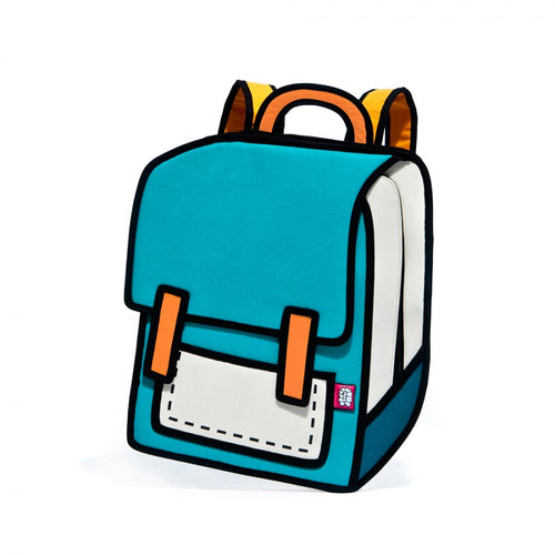 Turquoise Spaceman Backpack - JumpFromPaper