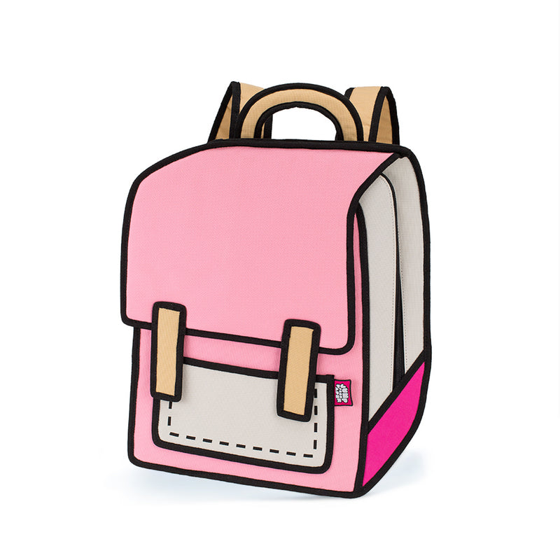 Pink Spaceman Backpack - JumpFromPaper