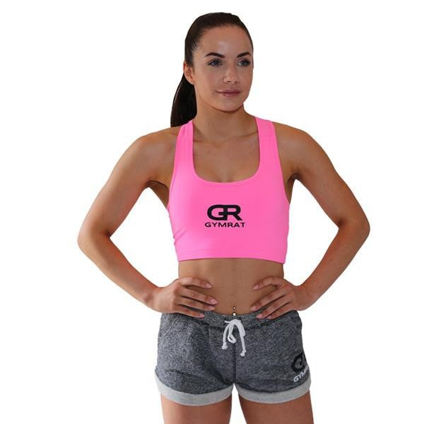 ELECTRIC PINK CROP TOP