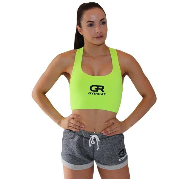 NEON YELLOW CROP TOP