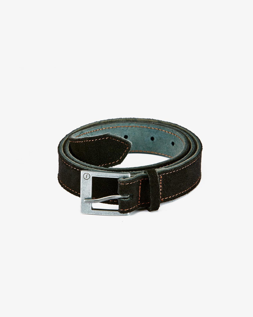 BELT | Black Suede