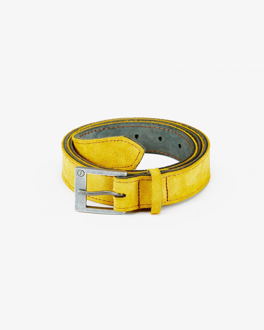 BELT | Yellow Suede