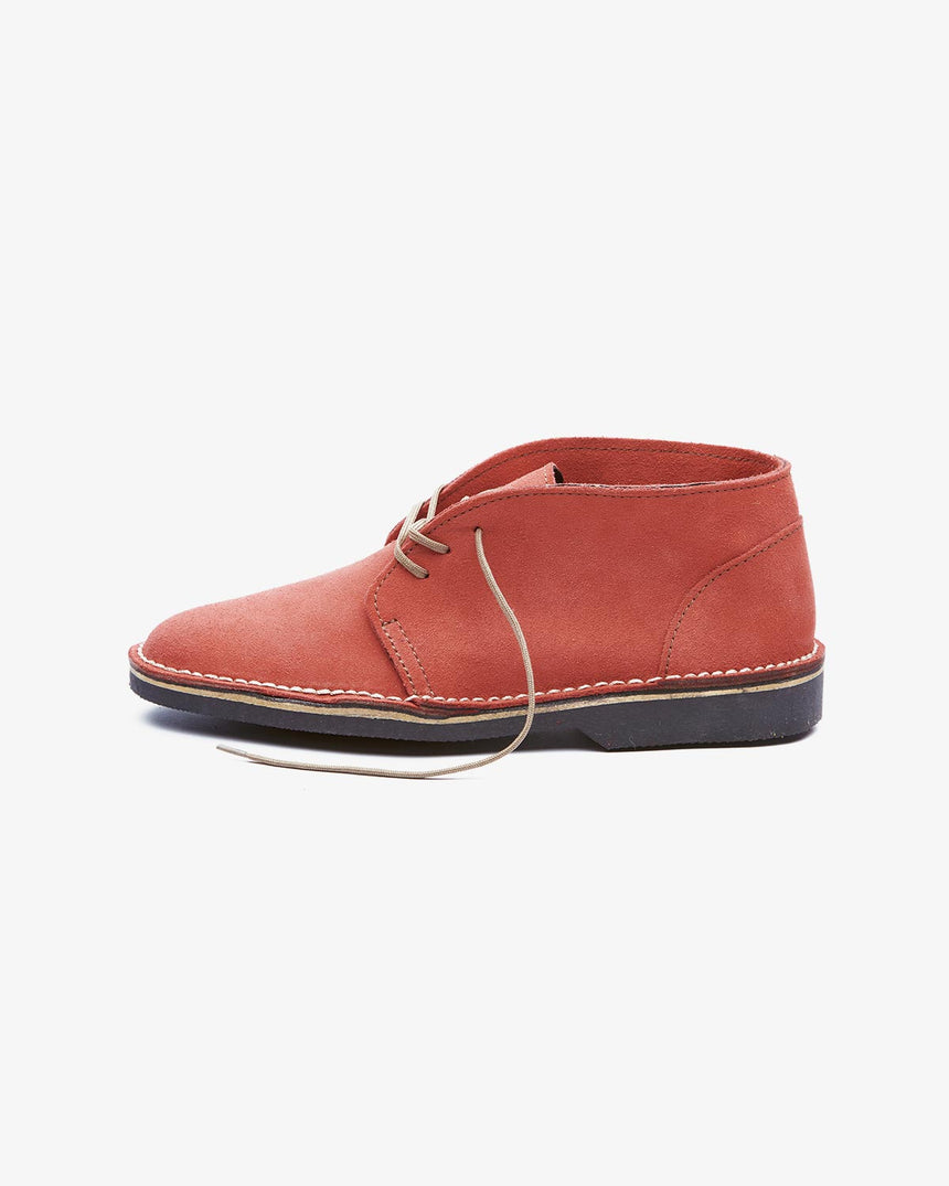 LEONIE | High-Top Red Suede