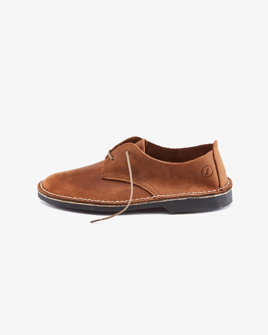 LEONIE | Low-Cut Dark Brown