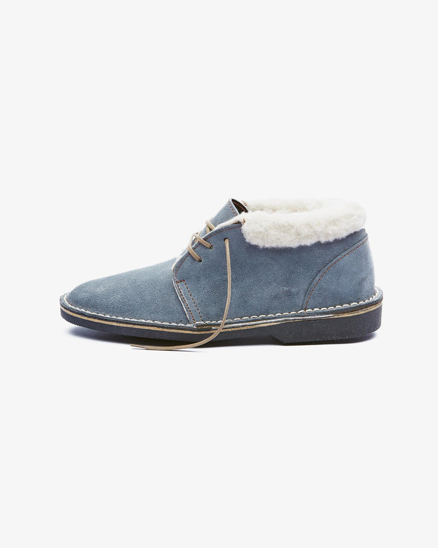 LEONIE | Low-Cut Grey Suede