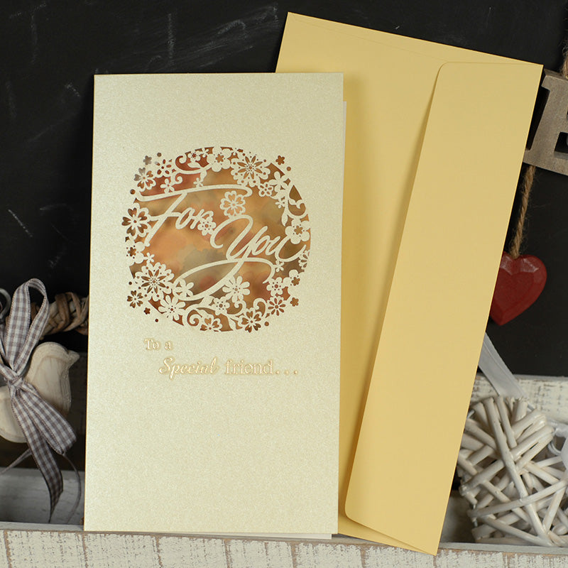 Greeting Gift Card with Envelope : To a Special Friend