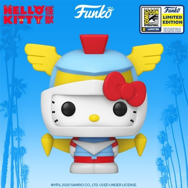 Hello Kitty - Robot Kitty Pop! SD20 RS SDCC Summer Convention Vinyl