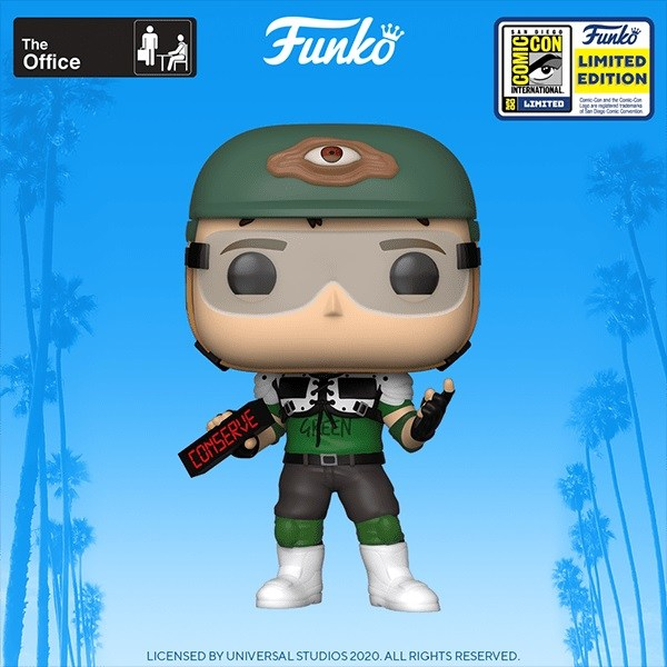 The Office - Recyclops v2 Pop! SD20 RS SDCC Summer Convention Vinyl