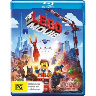 The LEGO Movie [Region B] [Blu-ray]