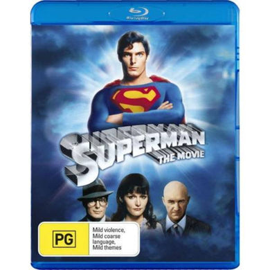 Superman: The Movie 1978 [Region B] [Blu-ray] - Stack The Cards - [variant_title]