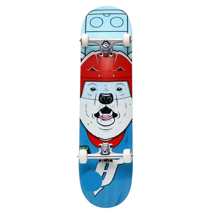 Holiday Skateboards - Sporting Animal Polar Bear 7.5