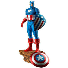 Captain America w Interchangeable Shield1:6 Scale Statue by Ikon
