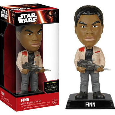 Finn Star Wars Wacky Wobbler Bobble Head Funko - Stack The Cards - [variant_title]