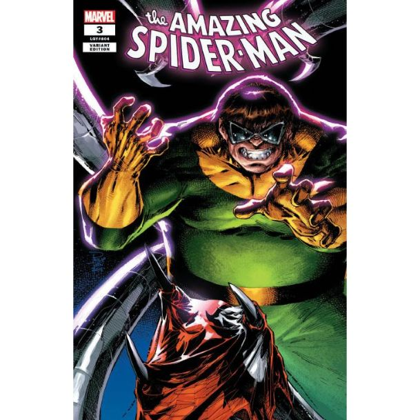 THE AMAZING SPIDER-MAN #3 Philip Tan Trade Dress Variant Cover Comic