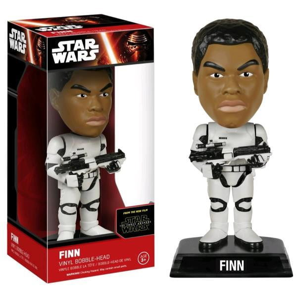 Finn Stormtrooper Star Wars Wacky Wobbler Bobble Head Funko - Stack The Cards - [variant_title]