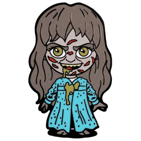 The Exorcist - Regan Chibi Enamel Pin / Badge