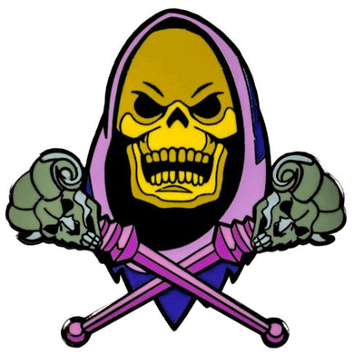 Masters of the Universe - Skeletor Enamel Pin / Badge