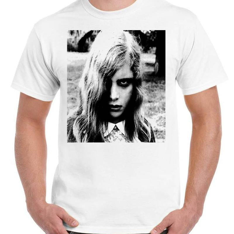 Night Of The Living Dead Zombie Girl - Unisex White T-Shirt - Geek Retro Fun Kitsch - Stack The Cards - [variant_title]