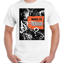 The Terror Boris Karloff - Unisex White T-Shirt - Geek Retro Fun Kitsch - Stack The Cards - [variant_title]