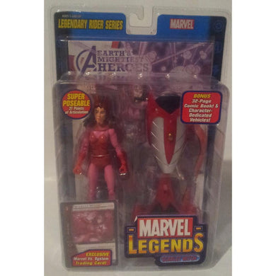 Marvel Legends Rider Series Scarlet Witch 2005 Action Figure Toy Biz