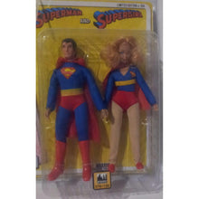 Team Ups Superman & Supergirl Limited Edition 79 of 100 DC Comics 2014 Action Figure Set
