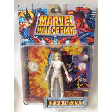 Invisible Woman Hall Of Fame 1996 Action Figure Toy Biz - Stack The Cards - [variant_title]