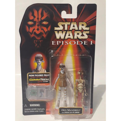 Ody Mandrell 1998 Episode 1 Star Wars Action Figure Hasbro - Stack The Cards - [variant_title]