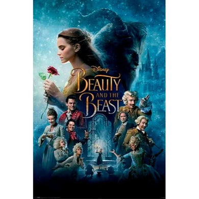 DISNEY BEAUTY & THE BEAST #20 - 60X90cms Official Wall Poster - Stack The Cards - [variant_title]