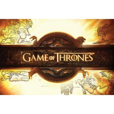 GAME OF THRONES LOGO #40 - 60X90cms Official Wall Poster - Stack The Cards - [variant_title]