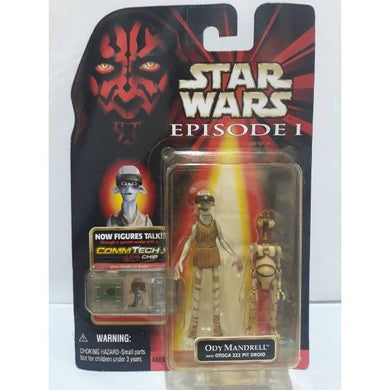 Ody Mandrell Star Wars Episode 1 Action Figure 6765 - Stack The Cards - [variant_title]