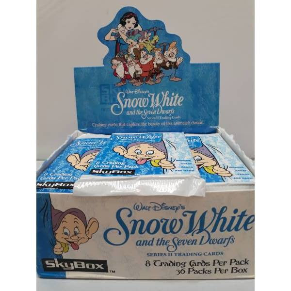 Disneys Snow White Series 2 Skybox 1994 Trading Cards -Single Packet- - Stack The Cards - [variant_title]
