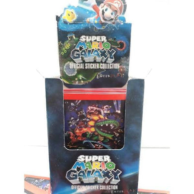 Super Mario Galaxy Nintendo 2009 Trading Stickers -Single Packet- - Stack The Cards - [variant_title]
