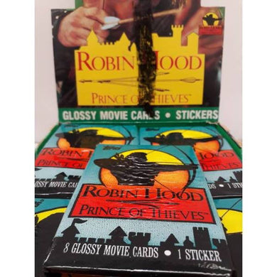 Robin Hood Prince Of Thieves Topps 1991 Trading Cards -Single Packet-