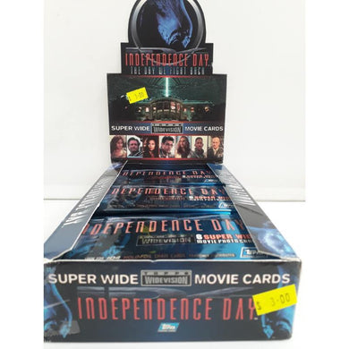 1996 Independence Day Widevision Movie Topps Trading Cards -Single Packet- - Stack The Cards - [variant_title]