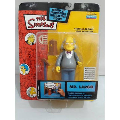 Mr Largo - Simpsons Action Figure Voice Activation Playmates - Stack The Cards - [variant_title]