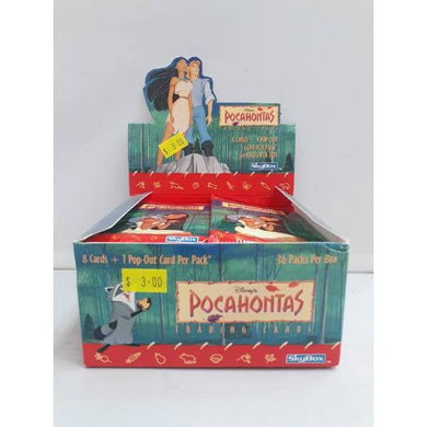 1996 Disney Pocahontas Trading Cards -Single Packet- - Stack The Cards - [variant_title]
