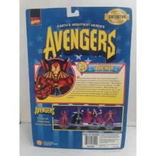 Heroes Reborn Iron Man Avengers 1997 Action Figure Marvel Toy Biz - Stack The Cards - [variant_title]
