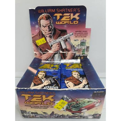 William Shatners TEK World Cardz 1993 Trading Cards -Single Packet-