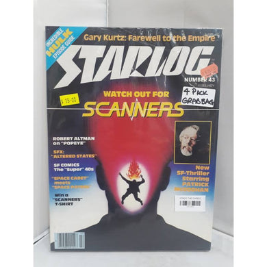 Starlog 4 Issue Grab Bag, Vintage Retro SciFi Magazines 110119453 - Stack The Cards - [variant_title]