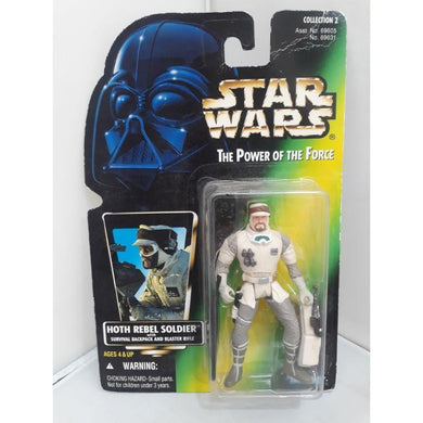 Hoth Rebel Soldier Backpack 96 Star Wars POTF Kenner Hasbro Action Figure - Stack The Cards - [variant_title]