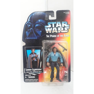 Lando Clarissian Heavy Rifle 95 Star Wars POTF Kenner Hasbro Action Figure - Stack The Cards - [variant_title]